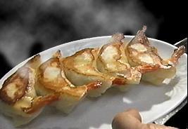 丸ごと一匹海老餃子